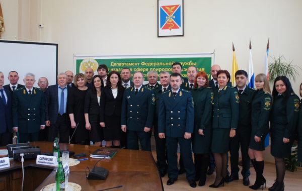 Окружное совещание по подведению итогов деятельности территориальных органов Росприроднадзора и подведомственных учреждений в субъектах Российской Федерации, расположенных в Северо-Кавказском федеральном округе, в 2018 году.