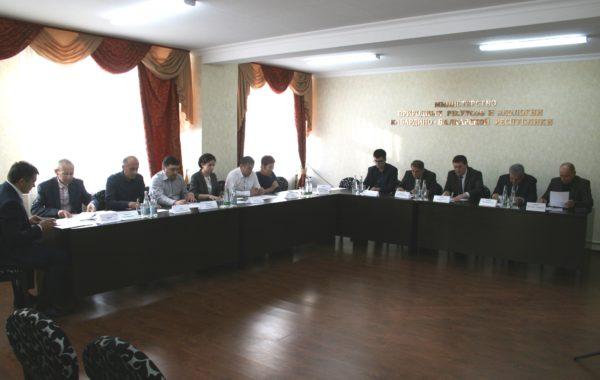 Заседание общественного совета Министерства природных ресурсов и экологии Кабардино-Балкарской Республики.
