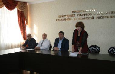 Участие сотрудников филиала ЦЛАТИ по Кабардино-Балкарской Республике в публичных обсуждениях правоприменительной практики Росприроднадзора.