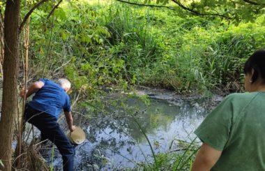 Отбор проб воды специалистами филиала ЦЛАТИ по Кабардино-Балкарской Республике.